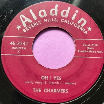 Charmers-Oh! Yes-Aladin vg+