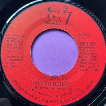 J.R Bailey-After Hours-Toy  M-