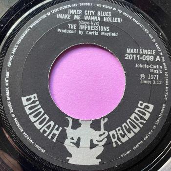 Impressions-Inner city blues-UK Buddah E