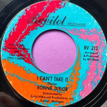 Ronnie Taylor-I can't take it-Revilot E