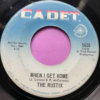 Rustix-When I get home-Cadet vg+