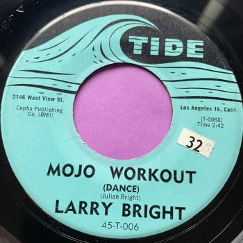 Larry Bright-Mojo Workout-Tide E+