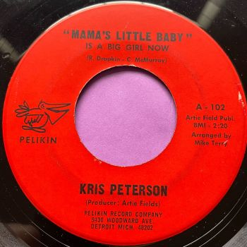 Kris Peterson-Mama's little baby-Pelikin E
