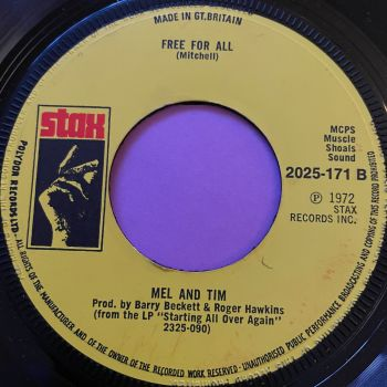 Mel and Tim-Free for all-Stax E+