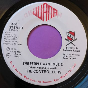 Controllers-The people want music-Juana E+