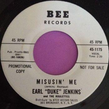 "Earl ""Duke"" Jenkins-Misusin` me-Bee WD M-"