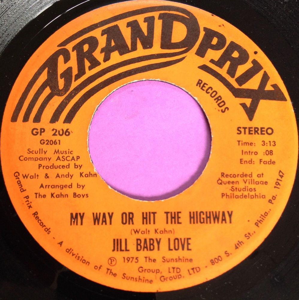Jill Baby Love-My way or hit the highway-Grand prix E+