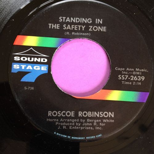 Roscoe Robinson-Standing in the safety zone-SS7 M-