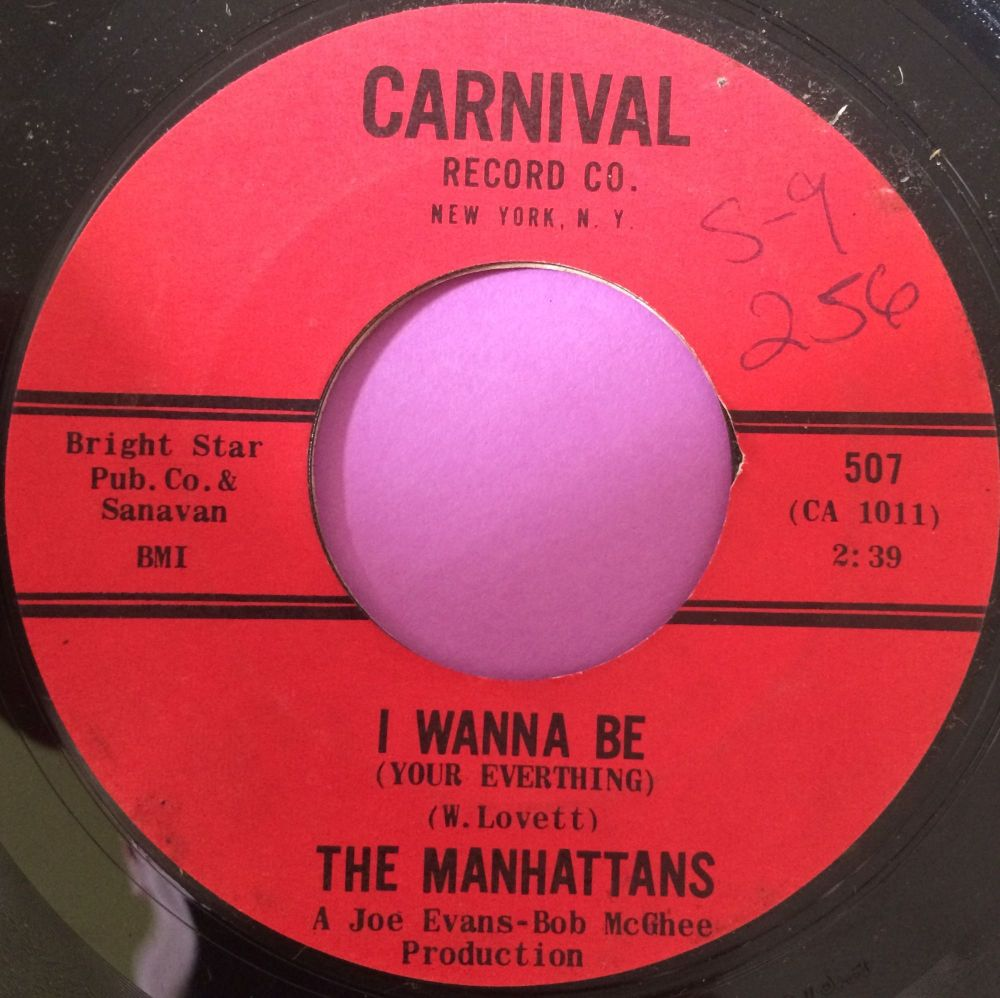 Manhattans-I wanna be-Carnival E+