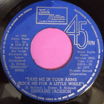 Jermaine Jackson-Take me in your arms-Jamaican Tamla E+