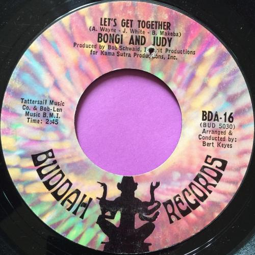Bongi and Judy-Let`s get together-Buddah E+