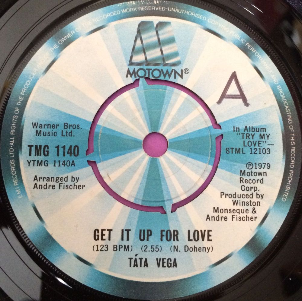 Tata Vega-Give it up for love-Motown UK E+