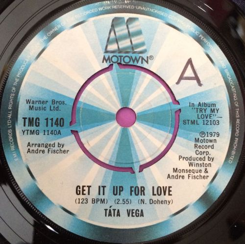 Tata Vega-Give it up for love-Motown UK E+