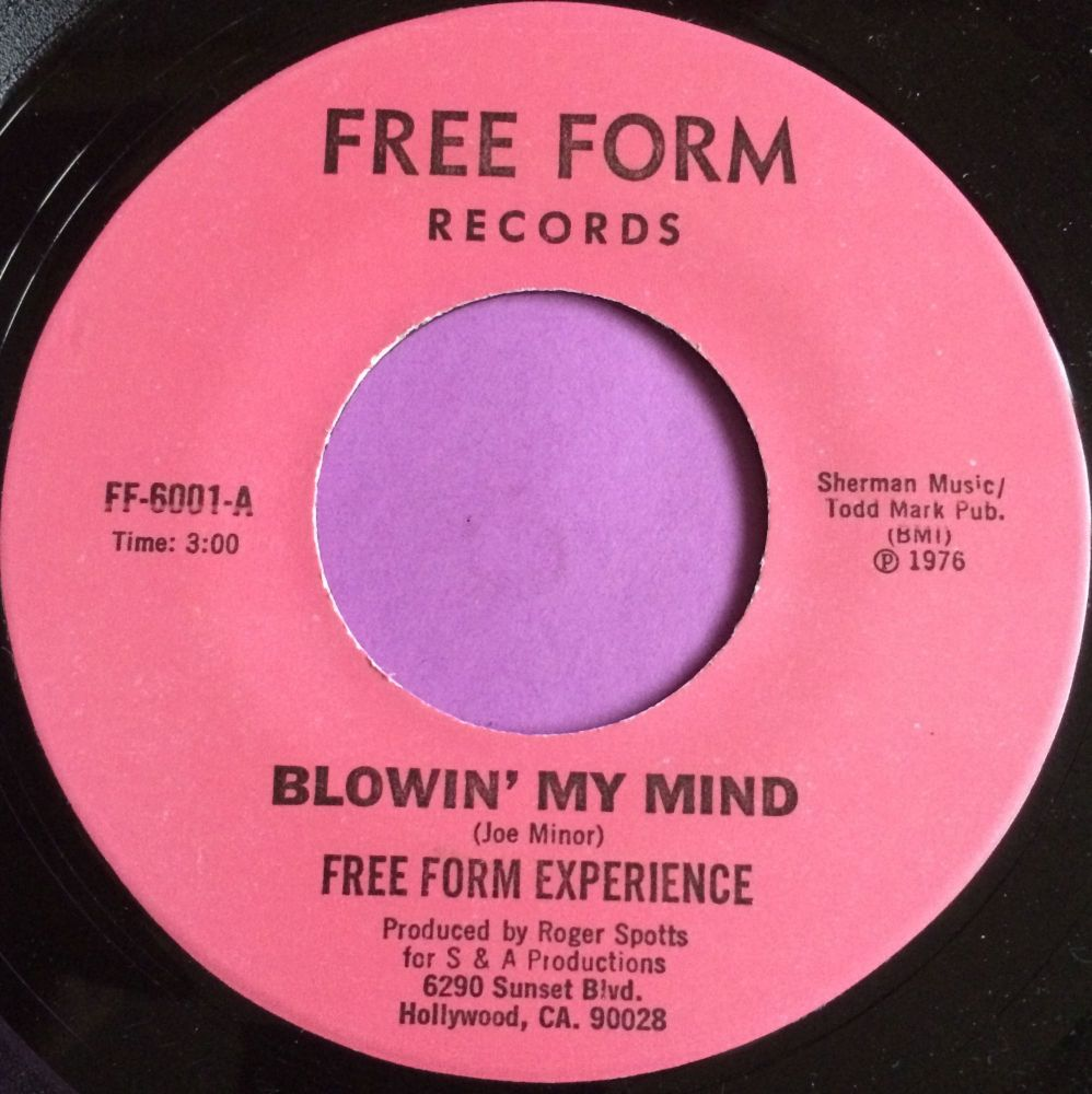 Free Form experience-Blowin` my mind-Free form M-