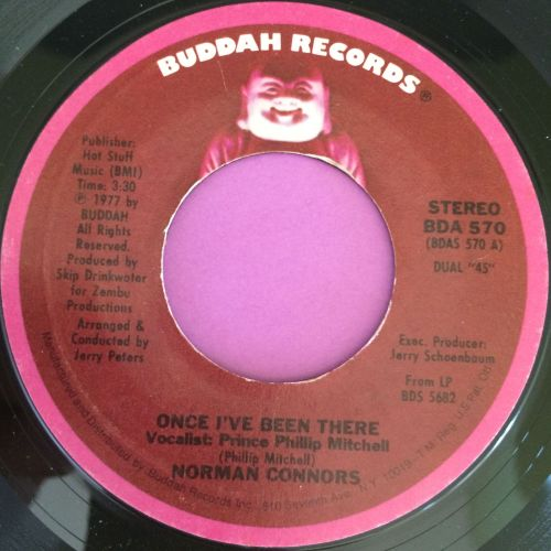 Norman Connors-Once I`ve been there-Buddah E+