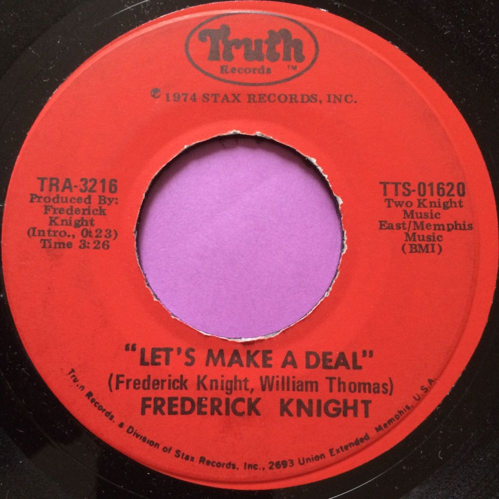 Frederick Knight-Let`s make a deal-Truth E+