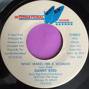 Danny Reed-What makes her a woman-Int. music bag E+