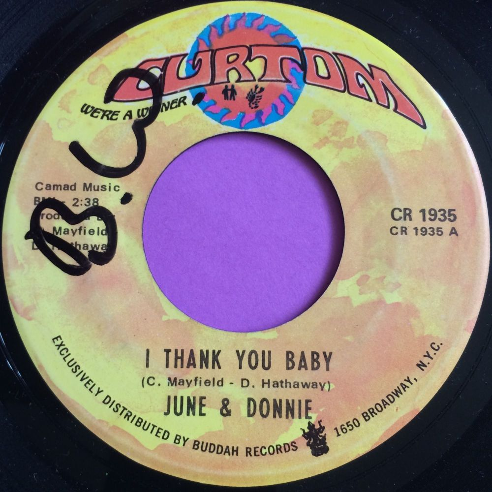 June & Donnie-I thank you baby-Curtom E+