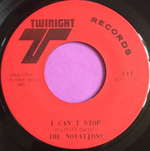 Notations-I can`t stop-Twinight E+