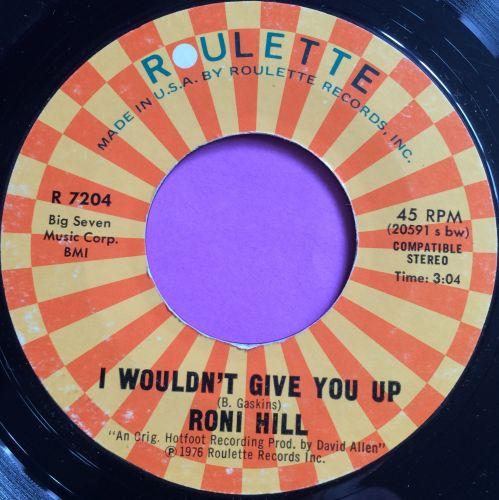 Roni Hill-I wouldn`t give you up-Roulette E+