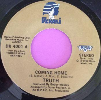 Truth-Coming home-Devaki E+