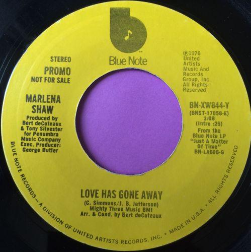 Marlena Shaw-Love has gone away-Blue note E+