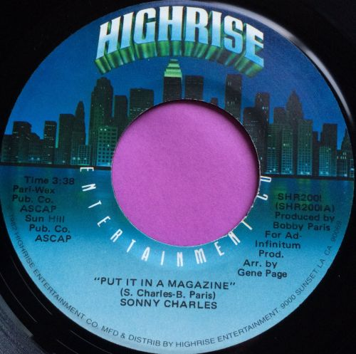 Sonny Charles-Put it in a magazine-Highrise E+