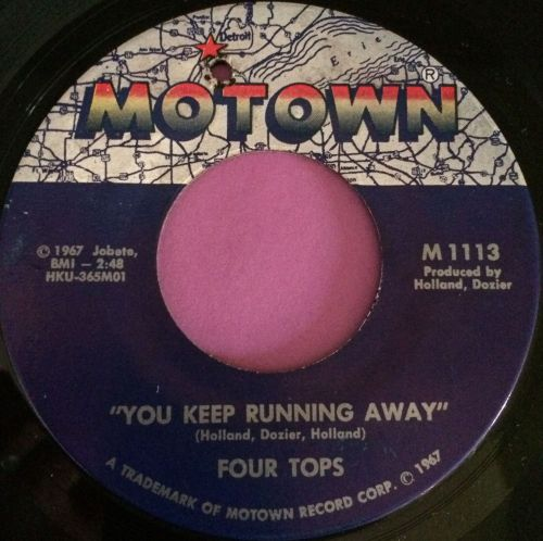 Four Tops-You keep running away-Motown E+