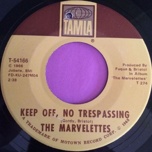Marvelettes-Keep off no trespassing-Tamla E+