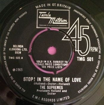 Supremes-Stop in the name of love-TMG 501