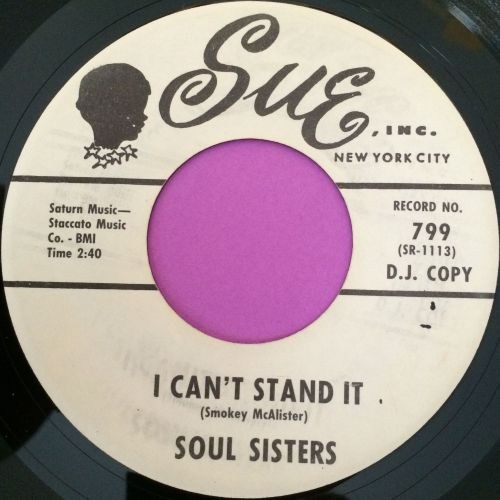 Soul sisters-I can`t stand it-Sue WD E+