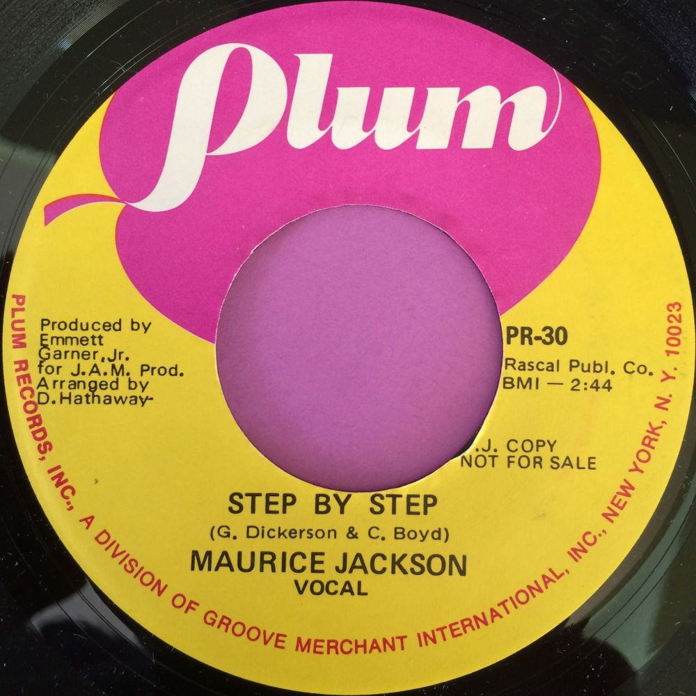 Maurice Jackson-Step by step-Plum demo M-