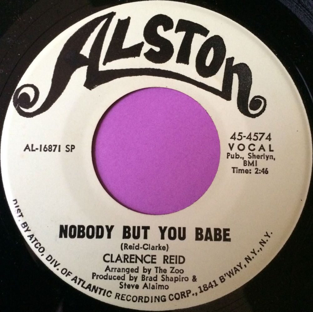 Clarence Reid-Nobody but you babe-Alston M-