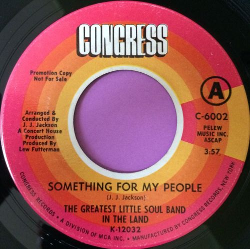 Greatest little soul band-Something for my people-Congress E+