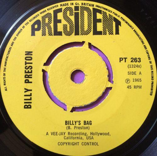 Billy Preston-Billy`s bag-President E+