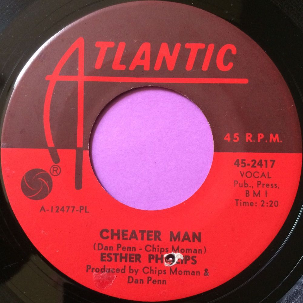 Esther Phillips-Cheater man-Atlantic E