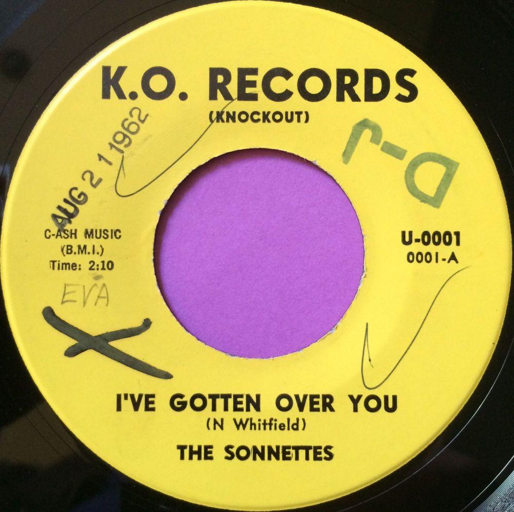 Sonnettes-I`ve gotten over you-K.O wol E+