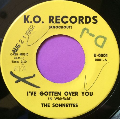 Sonnettes-I`ve gotten over you-K.O wol E+