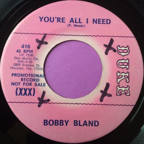 Bobby Bland-You`re all I need-Duke E+ wol