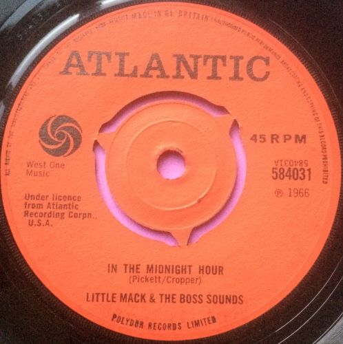 Little Mack and Boss sounds-In the midnight hour-UK Atlantic E+