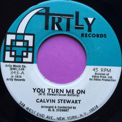 Calvin Stewart-You turn me on-Artly E+