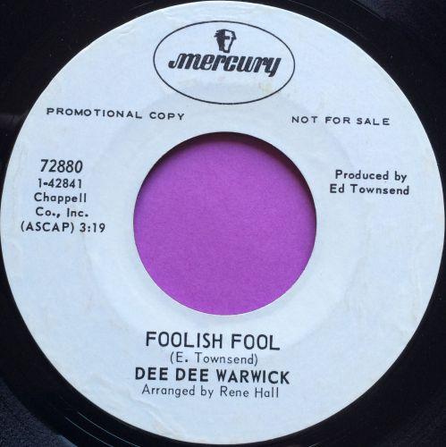 Dee Dee Warwick-Foolish fool-Mercury WD E+