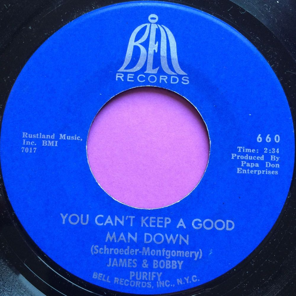 James and Bobby Purify-You can`t keep a good man down-Bell E+