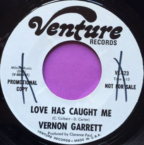 Vernon Garrett-Love has caught me-Venture WD wol E+