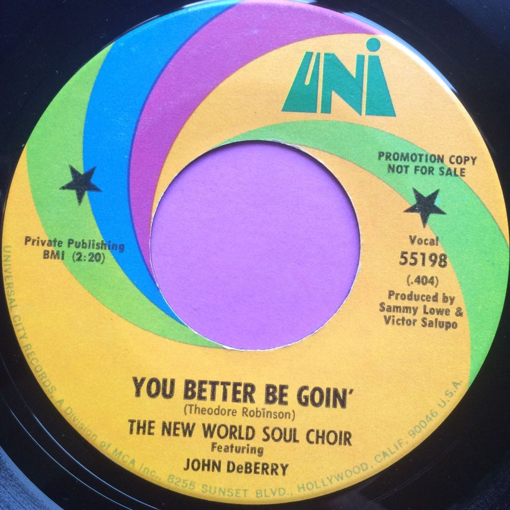 New world soul choir-You better be goin`-Uni M-