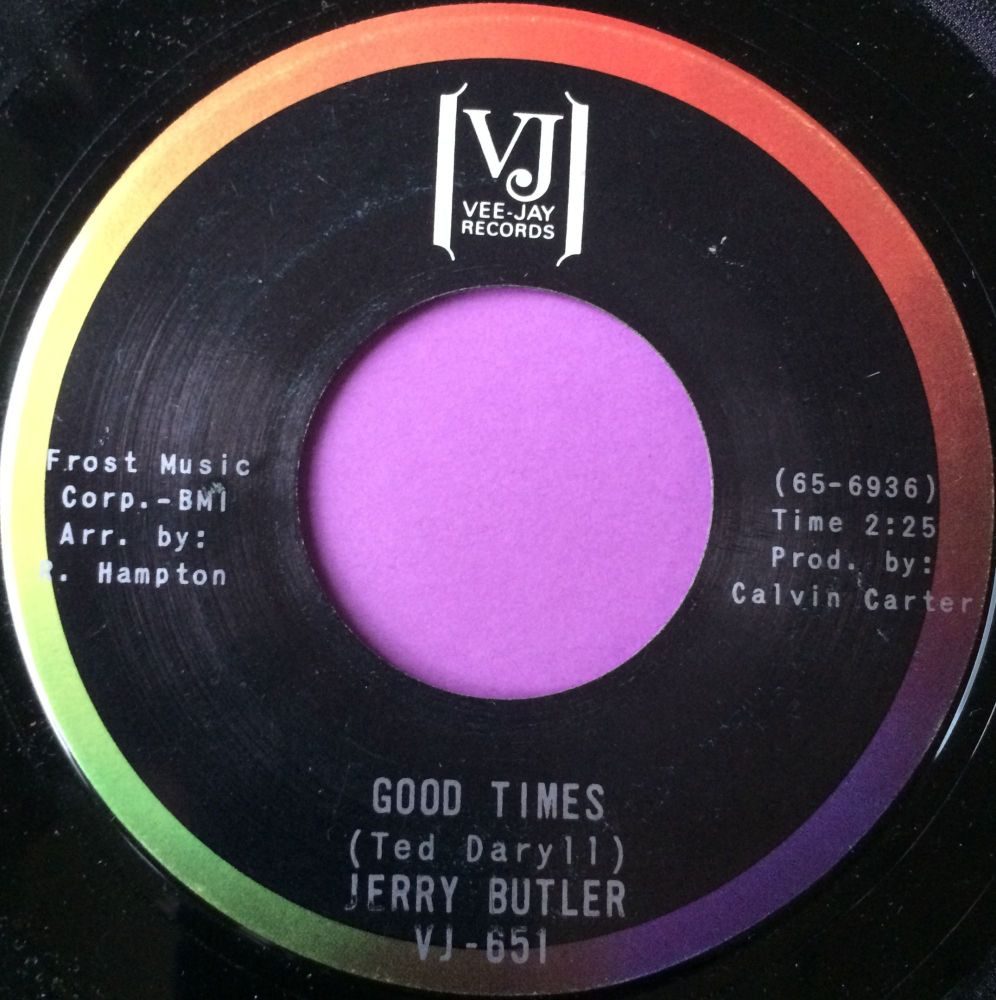 Jerry Butler-Good times-VJ E+