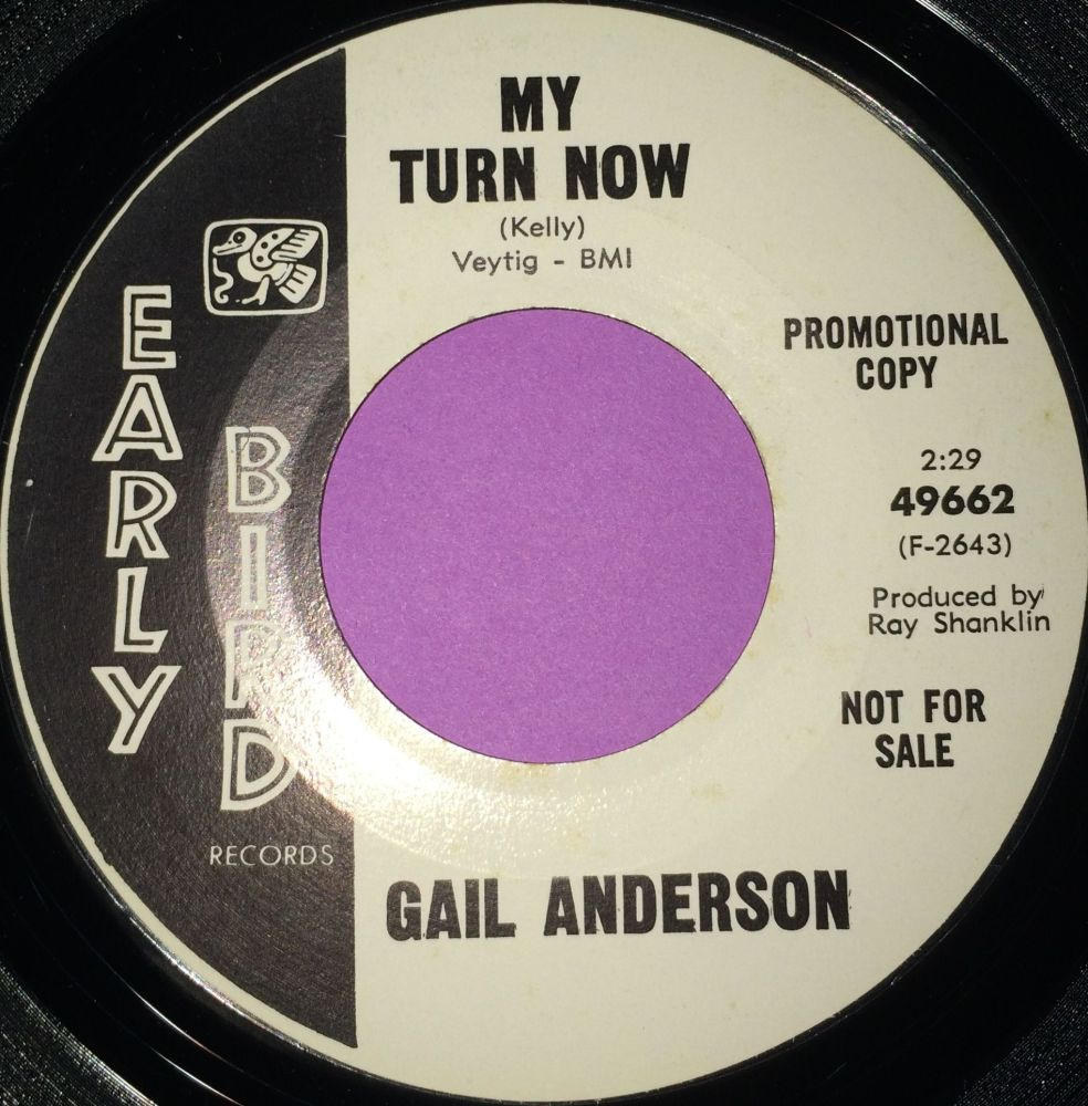 Gail Anderson-My turn now-Early bird WD E+