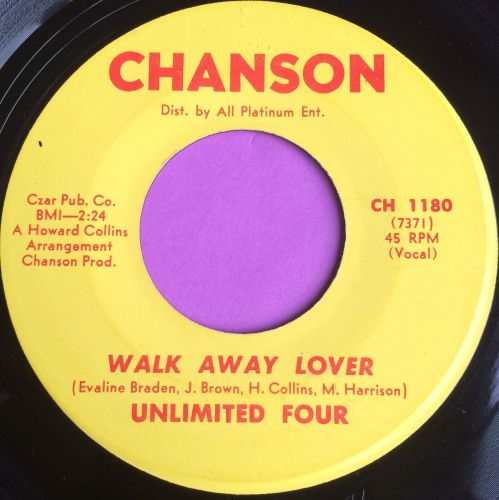 Unlimited Four-Walk away lover-Chanson E
