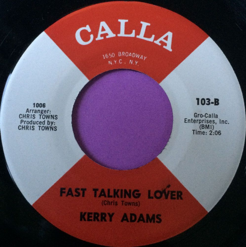 Kerry Adams-Fast talking lover-Calla E+