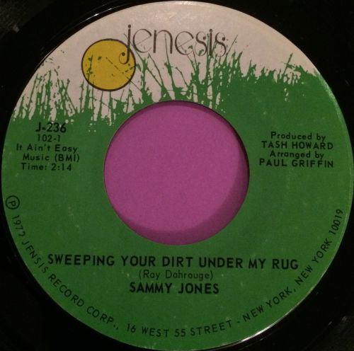 Sammy Jones-Sweeping your dirt under my rug-Jenisis E+